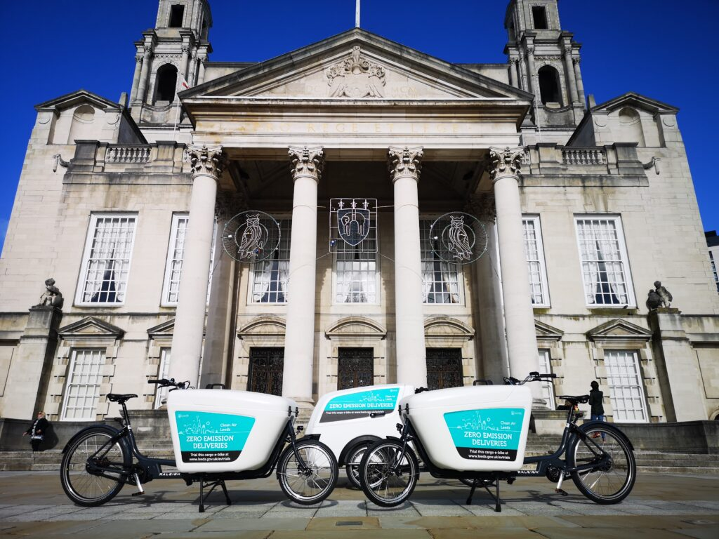e-cargo bikes in Leeds