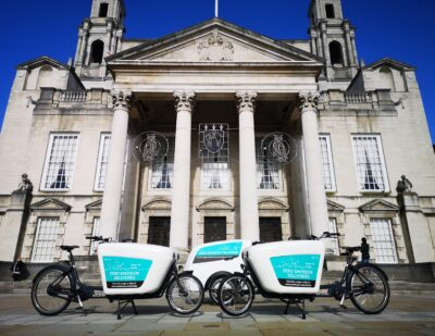 Leeds City Council and Partners Secure Grant to Buy More Electric Cargo Bikes