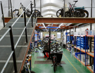 Fully Charged Opens UK's Largest eBike Service Centre