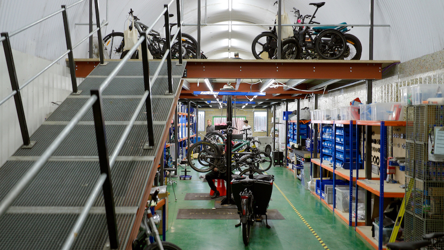 fully charged ebike service centre
