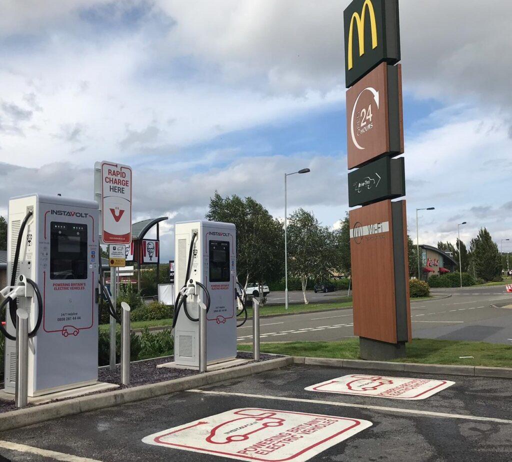 InstaVolt Rapid Charging Units