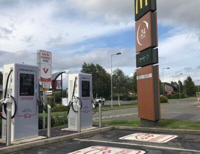 InstaVolt Installs New Rapid Charging Units, Halving EV Charging Time