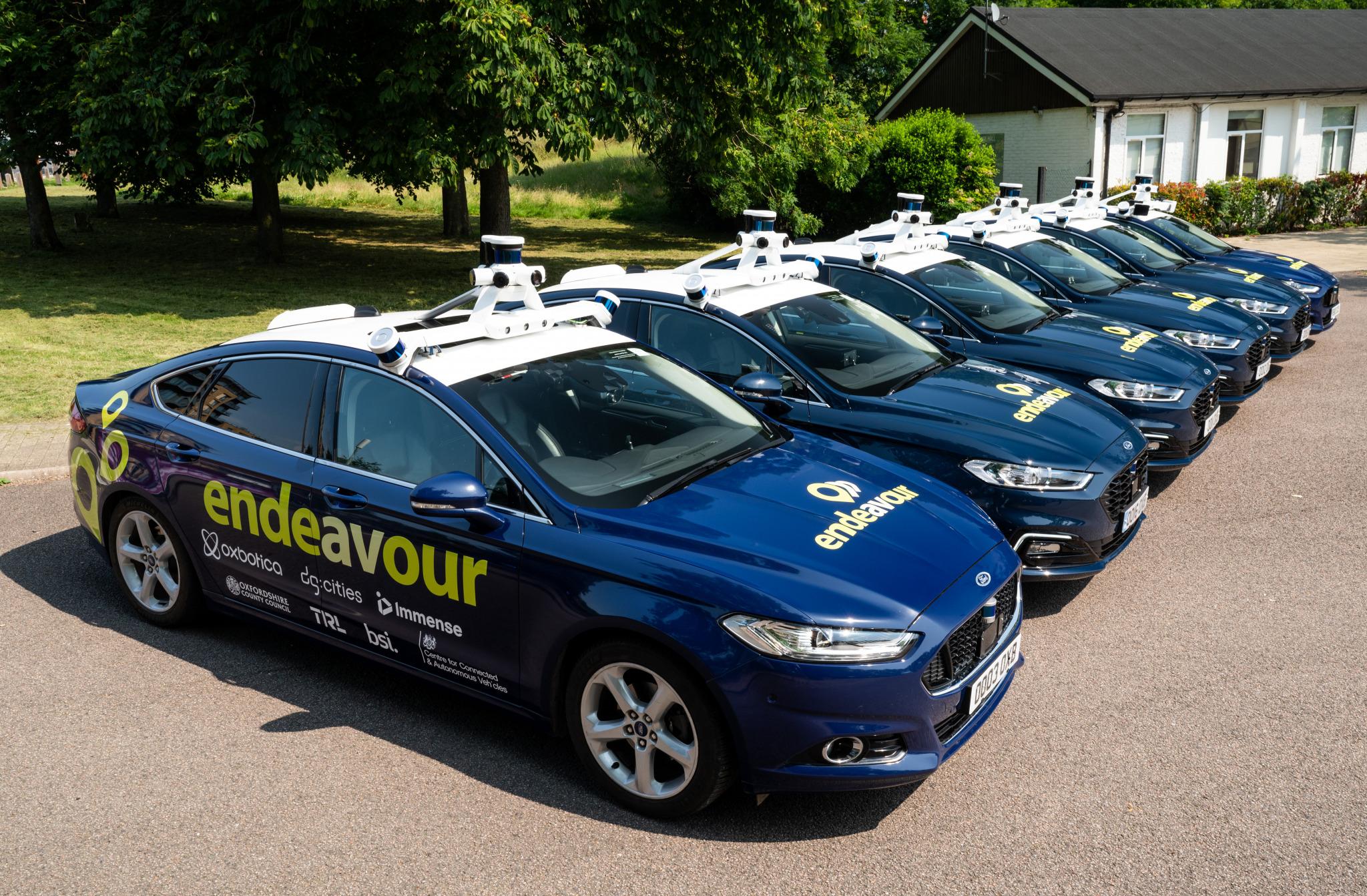 Project Endeavour Concludes with Autonomous Vehicle Passenger ...