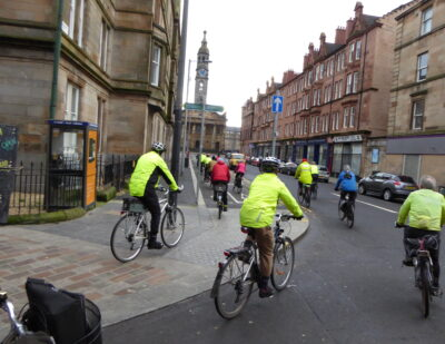 Q-Free Cycling Safety Solution Deployed in Glasgow