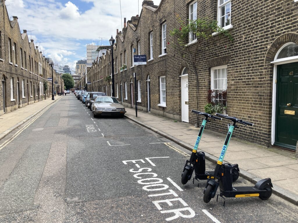 camden e scooter trial