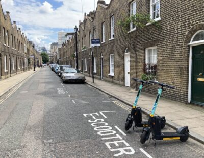 Camden Joins London's Rental e-Scooter Trial
