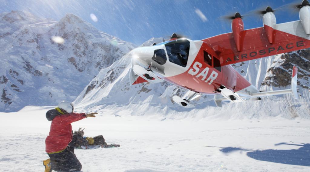Dufour Aerospace Swiss Air-Rescue Rega