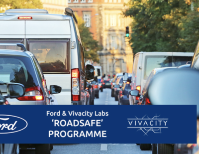 Ford and Vivacity Are Helping Drivers to Steer Clear of Hidden Hazards