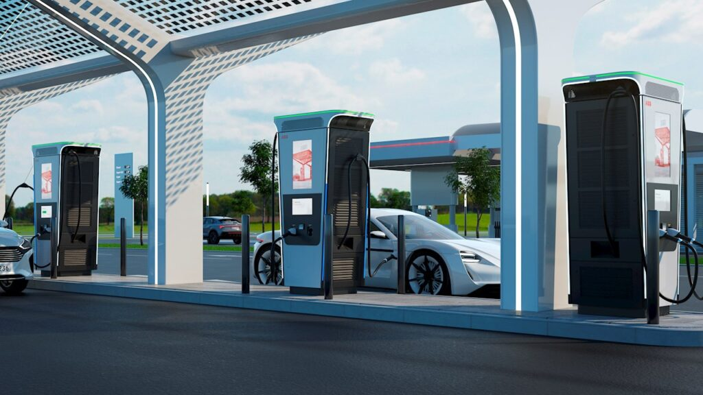 abb fastest electric charger