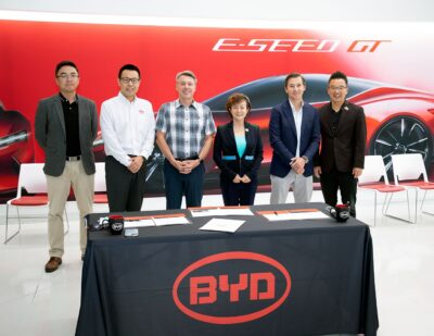 BYD and Levo to Deploy up to 5,000 EVs to Electrify U.S. Fleets