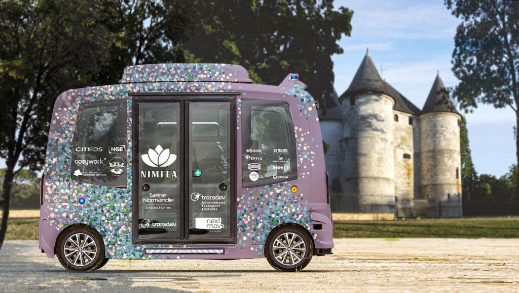 driverless shuttles france