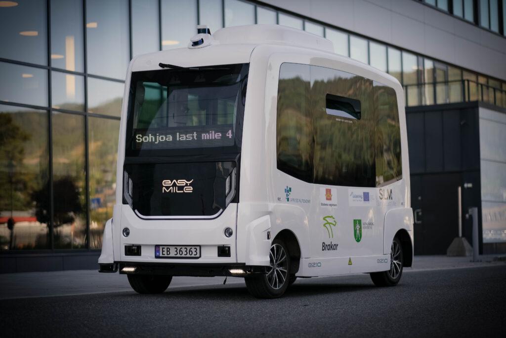 driverless shuttle kongsberg