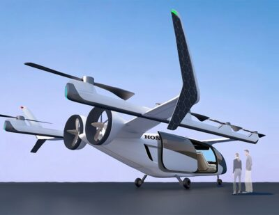 Honda Introduces Initiatives in New Areas, Plans to Enter eVTOL Market