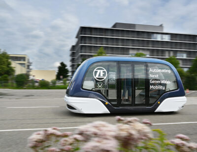 ZF Invests in Oxbotica to Deploy Autonomous Passenger Shuttles